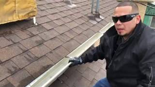 Final roof inspection consultation