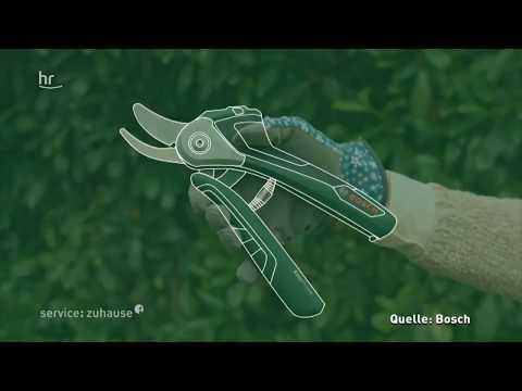 Akku-Gartenschere im Gebrauchstest