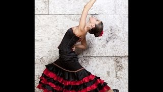 "Танец ""Фламенко"". Flamenco. Испанский танец. Spanish dance.Spanish flamenco dance.la danza española."