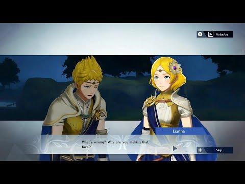 Fire Emblem Warriors - Rowan & Lianna Support Conversation