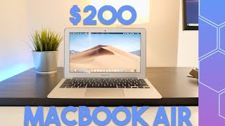 I bought a MacBook Air for $200, is it any good?