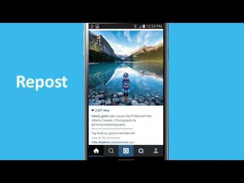 Vídeo do Regrann - Reposts no Instagram