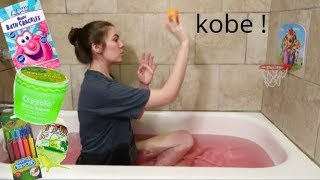 Trying Kids Bath Products.... In The Bath