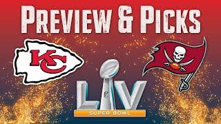 Super Bowl LV Preview & Game Picks!