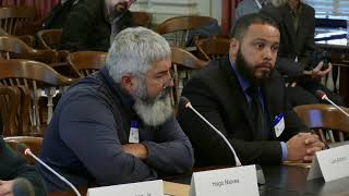Suspected Pagan Motorcycle Club Members appear at N.J. State Commission of Investigation