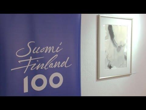 Várnegyed Galéria - Északi tájak magyar és finn ecsettel - video preview image