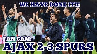"FAN CAM: Ajax 2-3 Tottenham: The Amsterdam ""Sites"", Moura Hat-Trick, Spurs Create History: 08/05/19"