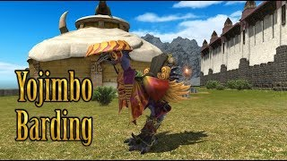 FFXIV: Yojimbo Barding