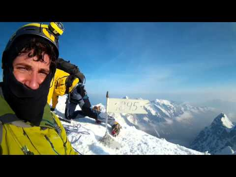 Zimski vzpon na Triglav 2864m