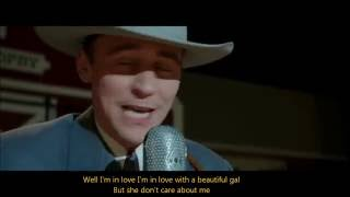 Tom Hiddleston sings Lovesick Blues -I Saw The Light- (ENG sub video+Lyrics)