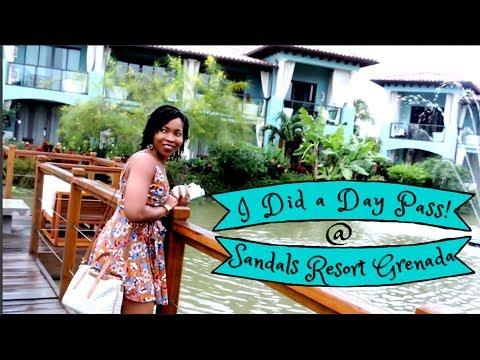 Sandals Resort Grenada | Day Pass | VLOG