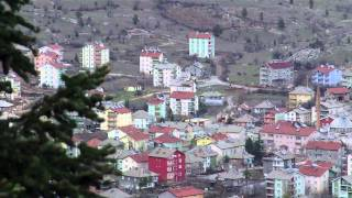 preview picture of video 'Derebucak Manzarasında Öğle Ezanı'
