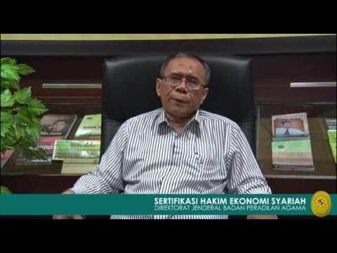 Sambutan Dirjen Badilag dalam Sertifikasi Hakim Ekonomi Syariah 2017