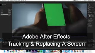 Adobe After Effects Phone Screen Replace Tutorial