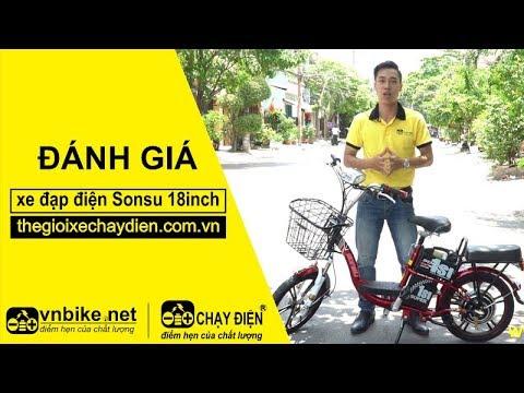 Đánh giá xe đạp điện Sonsu 18inch