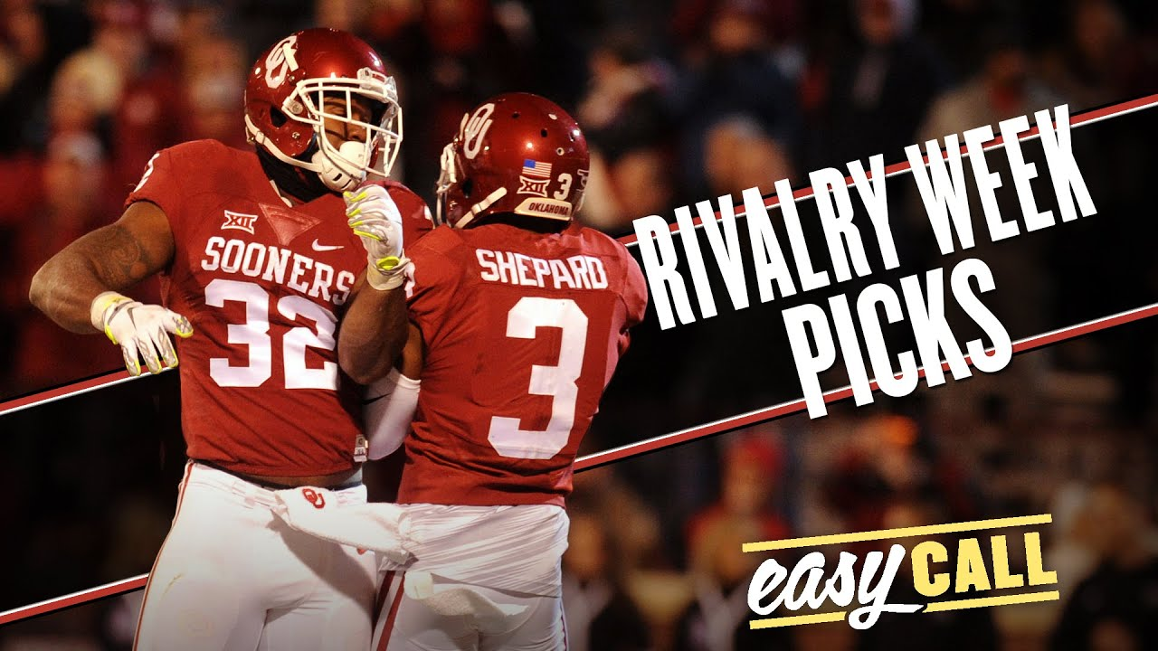 Easy Call: Rivalry Week betting guide + the ultimate Thanksgiving sandwich thumbnail