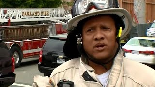 BUILDING COLLAPSE NOON UPDATE: Oakland Fire Battalion Chief Ian McWhorter give update on building co
