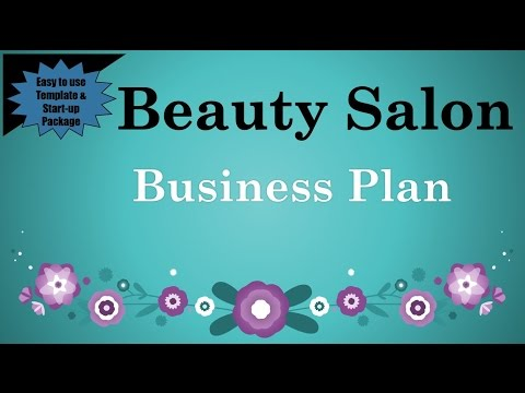 , title : 'Beauty Salon Business Plan Template with Example
