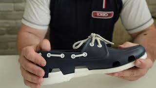 Кроксы обзор 4. Crocs Beach Line Boat Shoe.