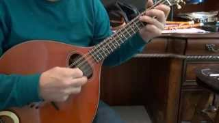 Sobell Mandola tuned as Octave Mandolin