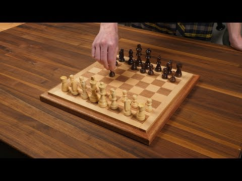 Three-Hour Project: Wooden Chess Board