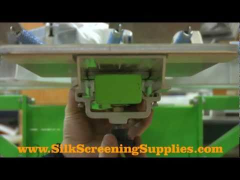 Aluminum Pallets Screen Printing Platen Installation Tutorial