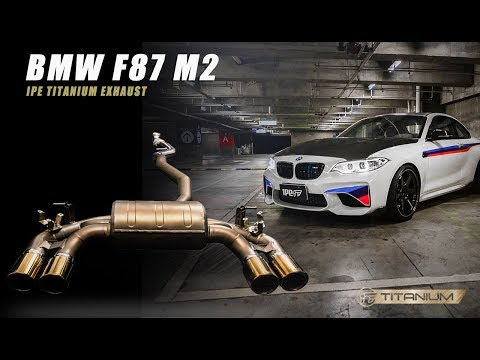 The iPE Titanium exhaust for BMW F87 M2
