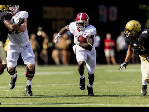 Why Bo Scarbrough likes playing road games