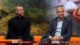 BBC News, Smoked Seaweed food for the future...
