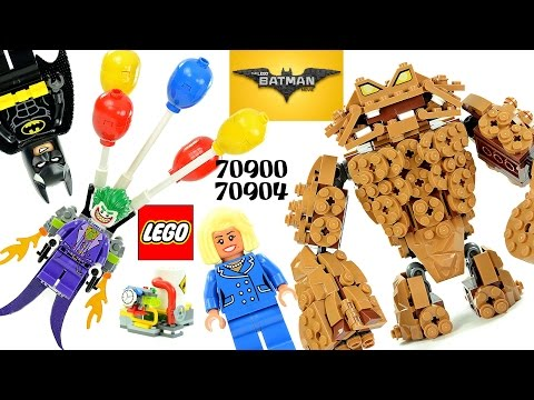LEGO® Batman Movie 70900 The Joker Balloon Escape & 70904 Clayface Splat Attack Combo
