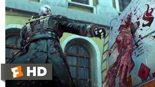 Resident Evil: Damnation (2012) - Tyrant vs. Lickers Scene (9/10)   Movieclips