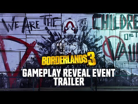 Borderlands 3 Gameplay Reveal Event Trailer thumbnail