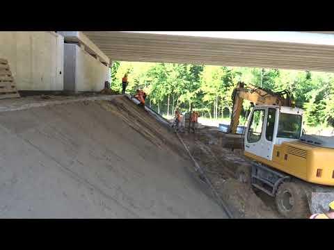 Budowa drogi ekspresowej S19 (obw. m. Kraśnik) - tydzień 04 - sierpień 2021 r.