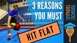 Tre anledningar till att använda flat slag istället för topspin
