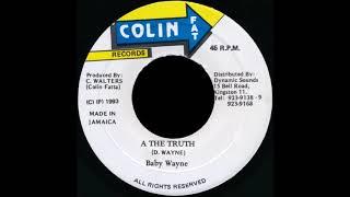 Baby Wayne €Ž- A The Truth (1993) Top Ten Riddim