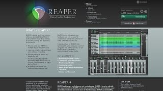 Ep 27 | Reaper DAW & Why I Record With It