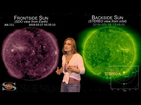 Solar Storm Forecast - March 20, 2019 at 07:59PM