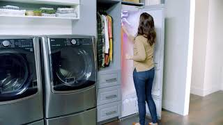 YouTube Video AmUmyfrq43M for Product LG Styler Steam Clothing Care System by Company LG Electronics in Industry Laundry