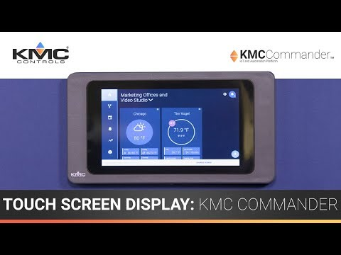7″ Touch Screen Display: KMC Commander