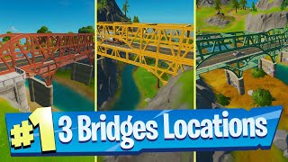 Dance at the Green Steel Bridge, the Yellow Steel Bridge, and the Red Steel Bridge - Fortnite