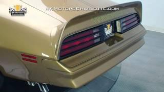 132707 / 1978 Pontiac Trans Am Gold Special Edition