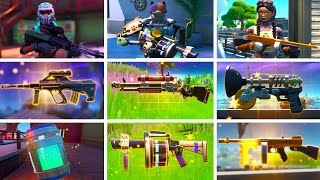 ALL Bosses, Mythic Weapons & Vault Locations Guide | Fortnite Season 3 Chapter 2 (PS5 / XBOX / PC!)