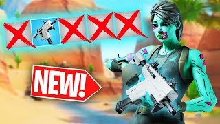 *NEW* BURST SMG 1 Gun Only Challenge  -  Fortnite Battle Royale