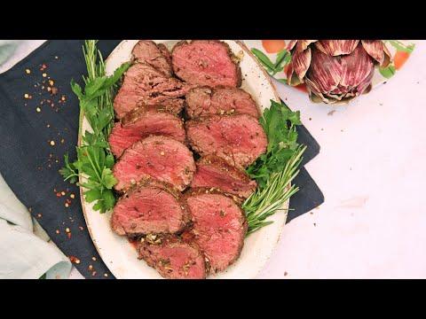 Perfect Roasted Beef Tenderloin