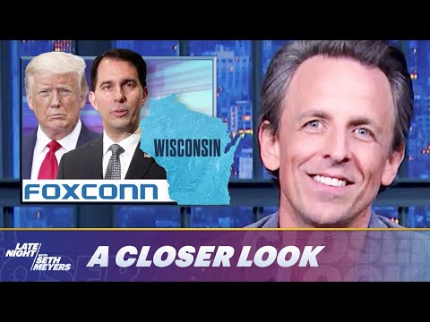 One of Trump's Biggest Scams, the Foxconn Deal, Falls Apart: A Closer Look