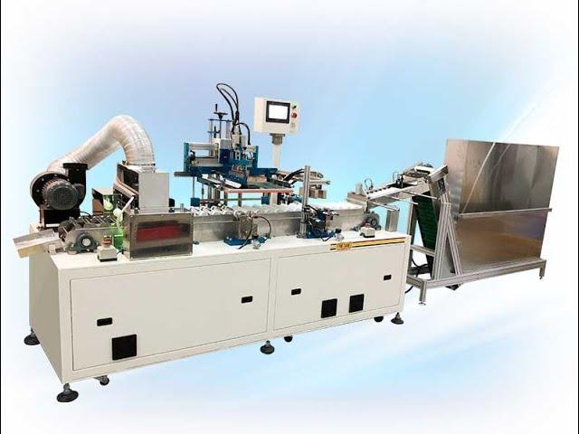 FA-LV1 全自動單色曲面專業矽利康填縫膠管網印機