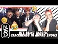 GUYS REACT TO BTS Being Chaotic Crackheads in Award Shows