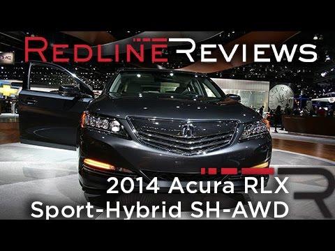 2014 Acura RLX Sport-Hybrid SH-AWD - 2013 Los Angeles Auto Show
