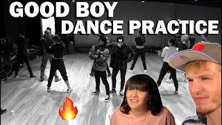 G-DRAGON & TAEYANG GOOD BOY DANCE PRACTICE (COUPLE REACTION!)