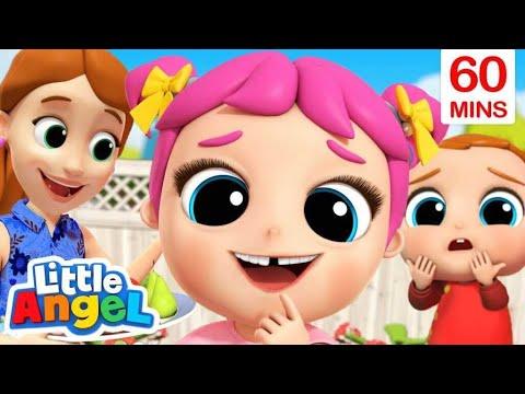 Loose Tooth Song + More Little Angel Kids Songs & Nursery Rhymes